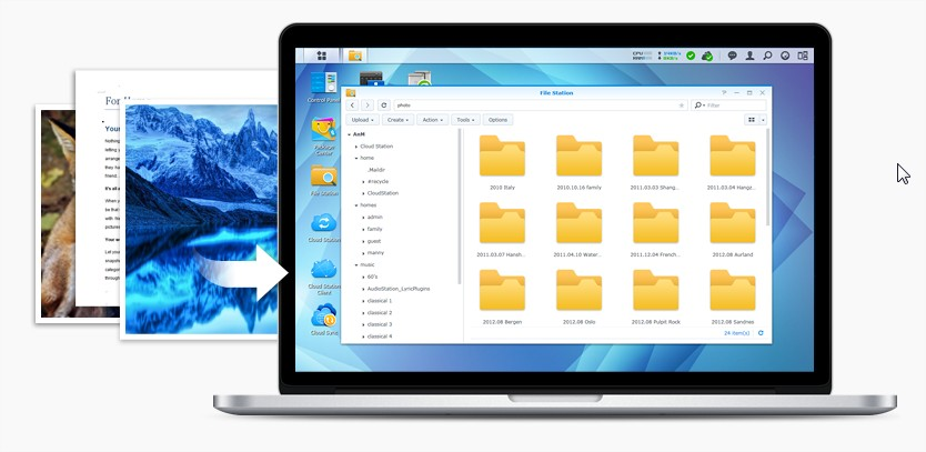 synology file share 2